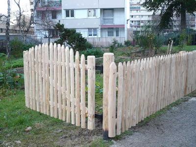 art-chataignier : clôture barrière portail plessis gaulettes ...